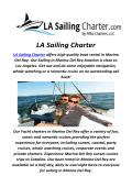 LA Sailing Charter : Rent A boat In Los Angeles, CA