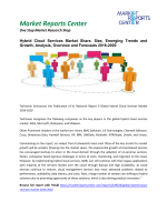 Hybrid Cloud Services Market Growth And Segment Forecasts To 2020