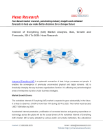 Internet of Everything (IoE) Market Analysis, Size, Share, Growth and Forecasts, 2014 To 2020: Hexa Research