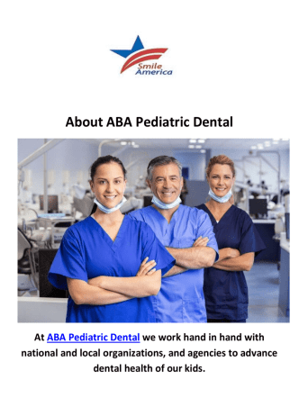 ABA Pediatric Dentistry in Jersey City, NJ