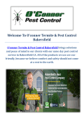 O'conner Termite & Pest Control in Bakersfield, CA