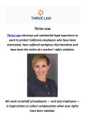 Thrive Law : Trial Lawyer in Los Angeles