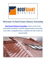 Roof Giant Clinton Township | Roof Repair in Clinton Township, MI