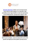 Marvelless Mark Kamp : Keynote Speaker in Seattle, WA