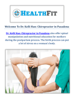 Dr. Kelli Han : Chiropractor in Pasadena, CA