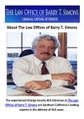 The Law Offices of Barry T. Simons - DUI Attorney in Newport Beach, CA
