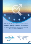 Waste Water Treatment Chemicals Market Share 2016-2026