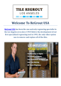 ReGrout USA | Tile Regrout in Los Angeles