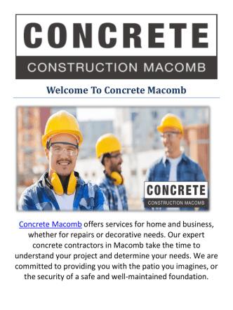 Concrete Macomb : Basement Waterproofing in Macomb, MI