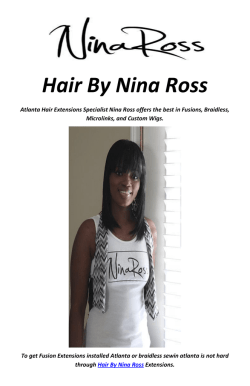 Hair By Nina Ross : Non-Surgical Hair Replacement in Atlanta, GA