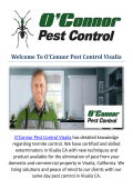 O'Connor Pest Control in Visalia, CA