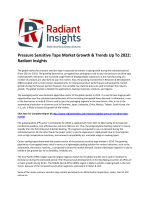 Pressure Sensitive Tape Market Survey & Market Size Up To 2022: Radiant Insights