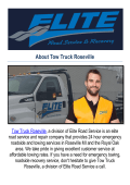 Tow Truck Roseville : Towing Service in Roseville, MI