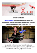 Buy The Right Xtreme Ice Blades