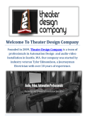Theater Design Company | Home Theatre Installation in Seattle