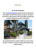So Cal Hot Properties : Home Rentals in Huntington Beach