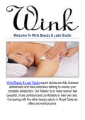 Wink Beauty & Lash Studio : Salons in Royal Oak, MI
