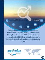 ADHD Therapeutics Market Size 2016-2024