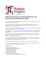 Global Menstrual Cups Consumption Market Trends and Growth Research Report 2016 by Radiant Insights