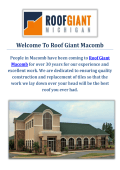Roof Giant  | Roofers in Macomb, Michigan