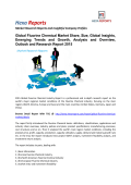 Fluorine Chemical Market Trends Growth, Analysis and Forecast To 2020