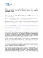 Military Infrastructure and Logistics Market Trends Growth, Analysis and Forecast To 2020