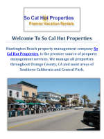 So Cal Hot Properties : Property Management in Huntington Beach