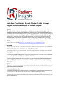 India Baby Food Market Size, Emerging Trends and Professional Survey Report 2016