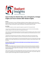 Japan Foodservice Market Size, Emerging Trends and Growth Report 2020: Radiant Insights
