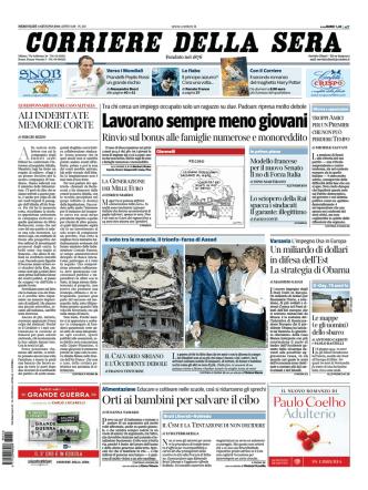 Corriere della sera - 04.06.2014