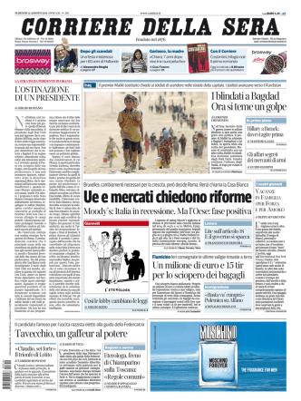 Corriere della sera - 12.08.2014