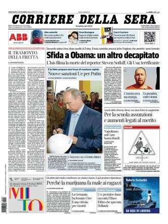 Corriere della sera - 03.09.2014