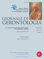 giornale di gerontologia