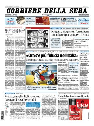 Corriere della sera - 08.06.2014