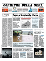Corriere della sera - 30.07.2014