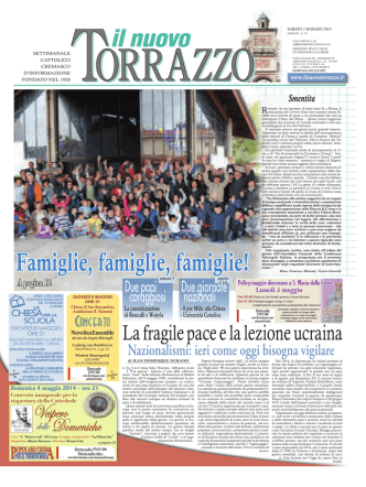 03/05/2014 - Il Nuovo Torrazzo
