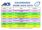 Calendario Gare A.I.C.S. 2015