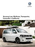 Accessori per Multivan, Transporter, Caravelle e