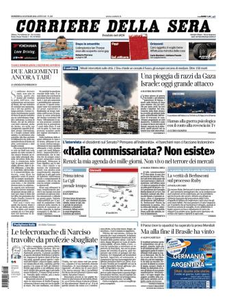 Corriere della sera - 13.07.2014