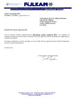 Agenda 2015 - Judo Piemonte