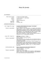 Consulenti e collaboratori - CV - I-M