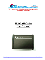 JTAG MPC55xx User Manual