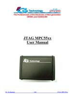 JTAG MPC55xx User Manual