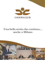 Scarica la brochure - Canova Club Milano