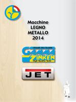 Macchine LEGNO METALLO 2014