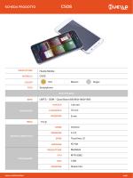 Scarica la scheda tecnica Huella Mobile C50S