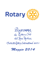 Maggio 2014 - Rotary Club Firenze