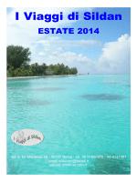 Catalogo Estate 2014 - I Viaggi di Sildan