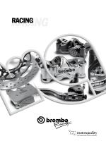 Prezzi (IVA esclusa) BREMBO RACING Pinze Radiali