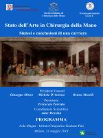 Programma - Istituto Ortopedico Gaetano Pini